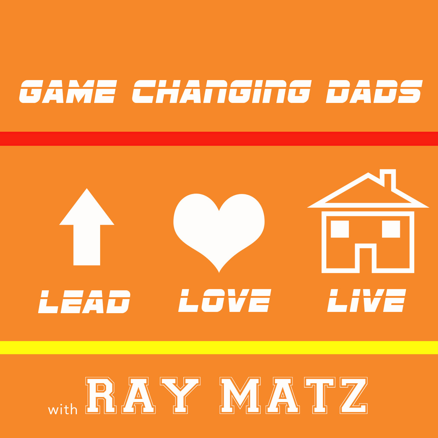 Game Changing Dads podcast show art