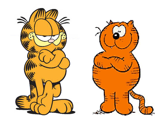 Back in Toons - Heathcliff & Garfield and friends