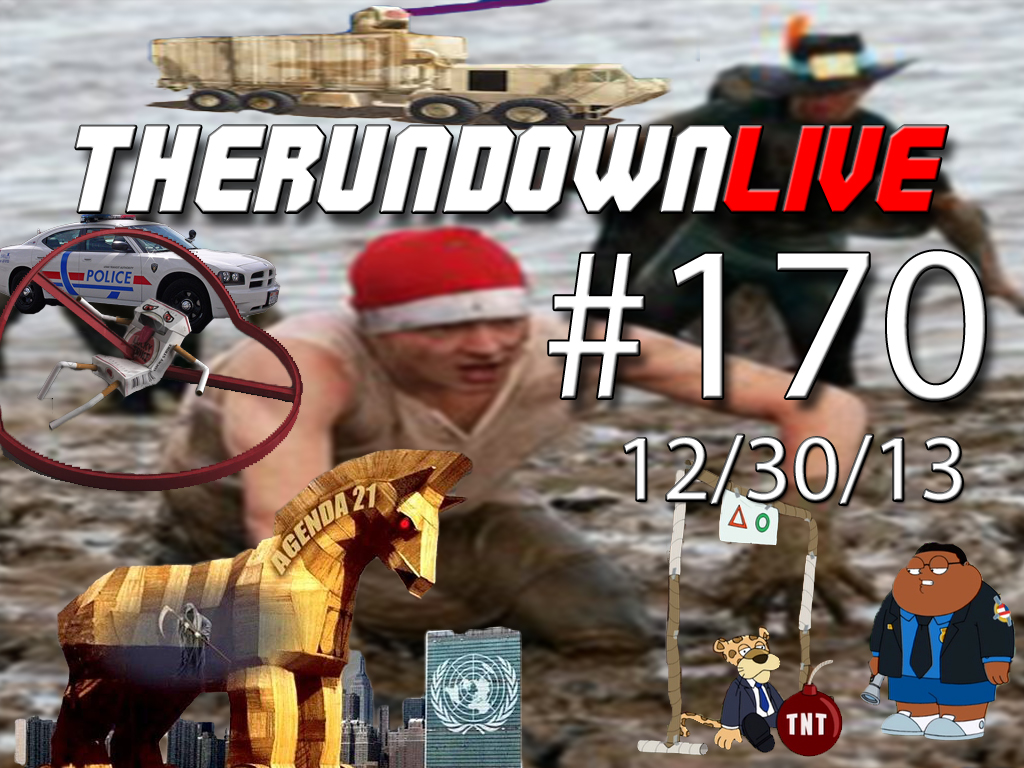 The Rundown Live #170 TSA Propaganda,Technology, Agenda 21, NSA
