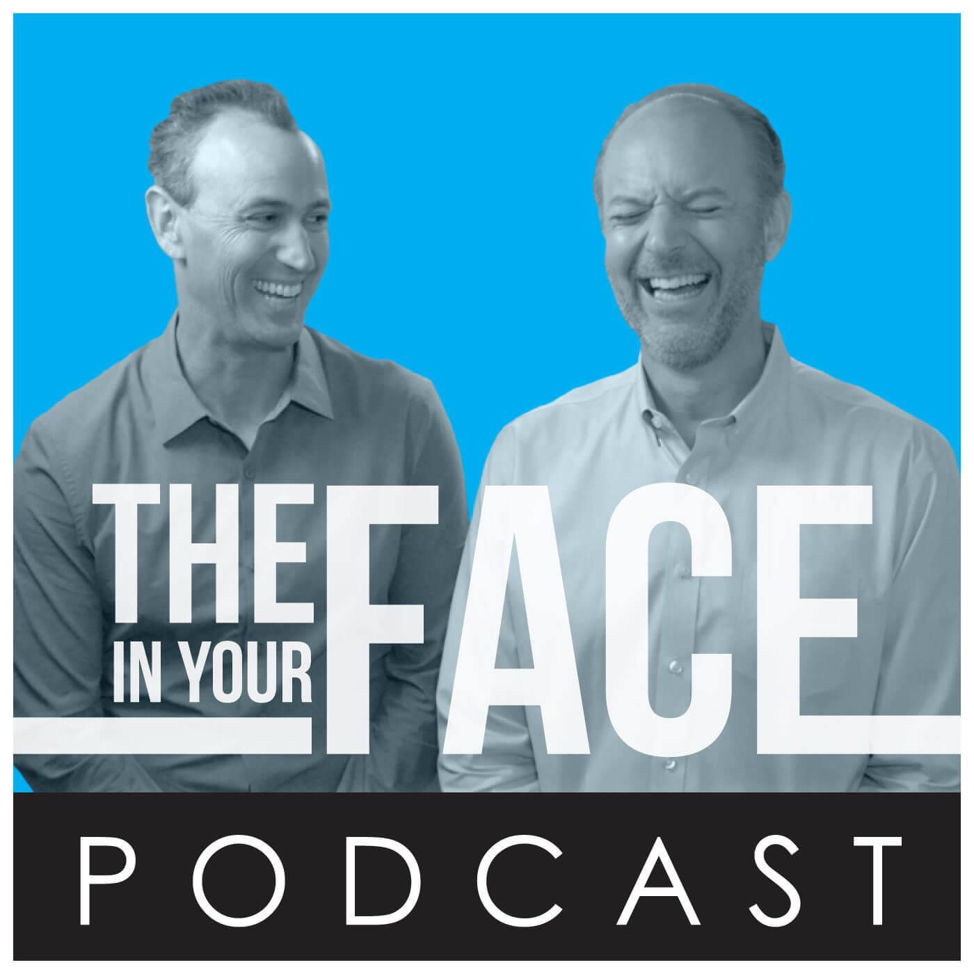 The In Your Face Podcast show art