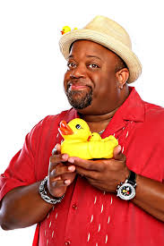 Comedian Mark Christopher Lawrence