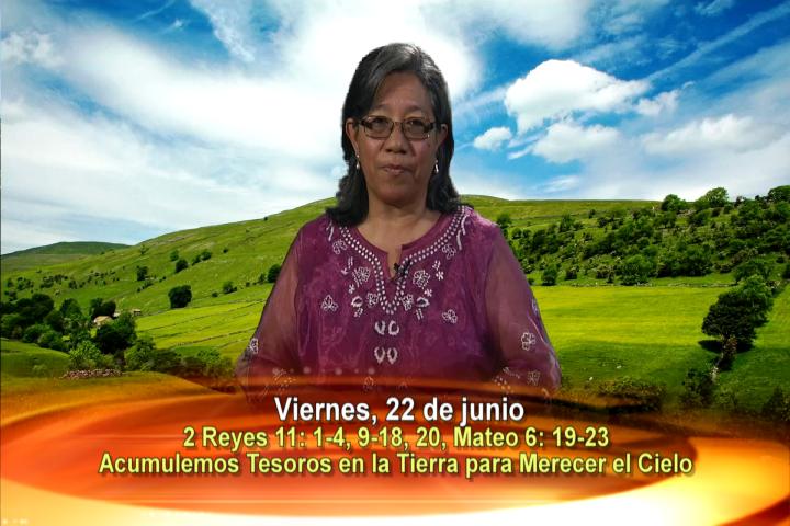 Artwork for Dios te Habla con Lidia Mendoza;  Tema el hoy: Acumulemos Tesoros en la Tierra para merecer el Cielo