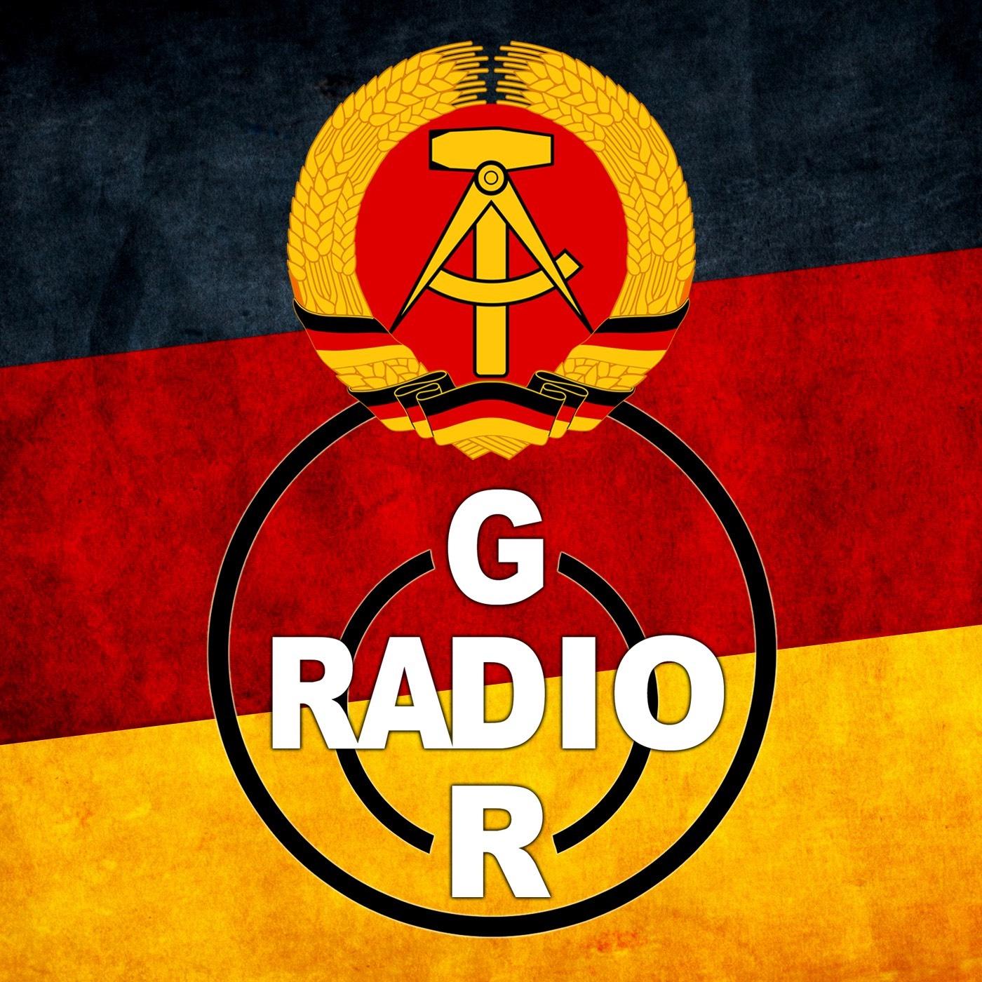 East Germany Podcast - Radio GDR show art