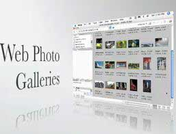 Create Web Photo Galleries from the Bridge