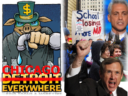 "Why Isn't Sen. Kirk's ""Chicago Will Become Detroit"" Threat National News?"