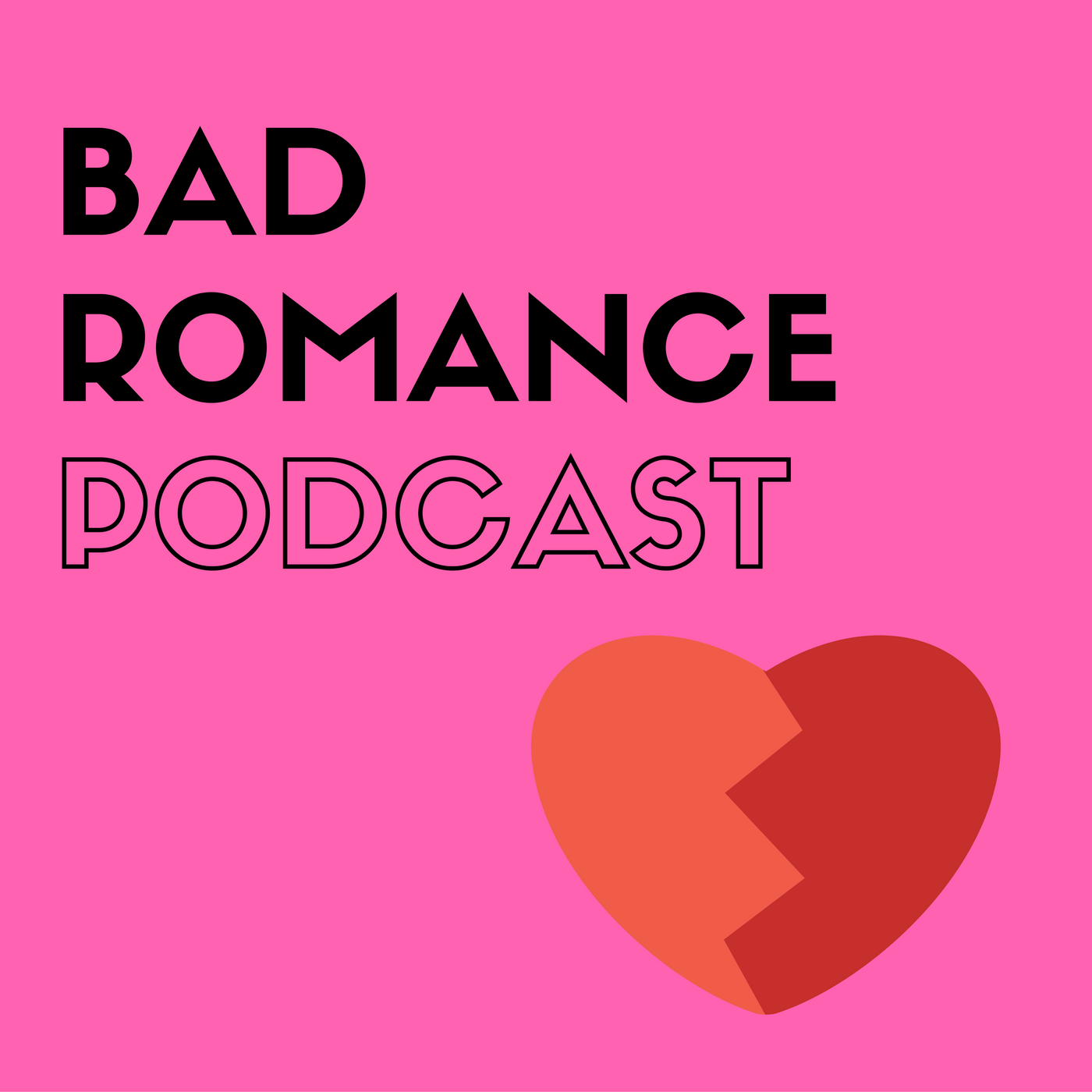Bad Romance Podcast show art