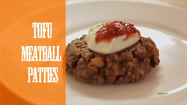 Tofu Meatball Patties
