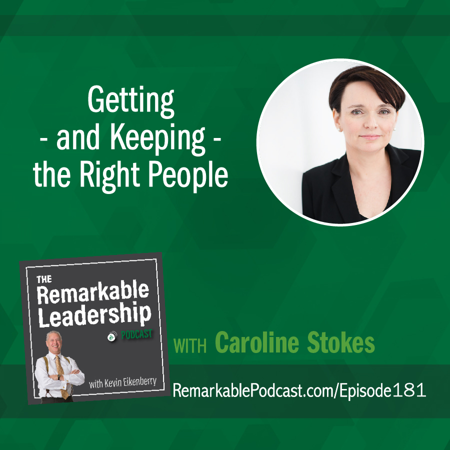 Getting - and Keeping - the Right People with Caroline Stokes show art