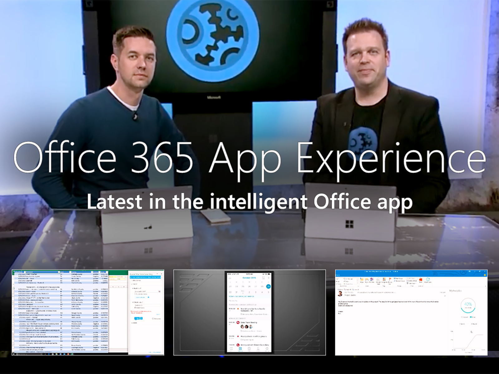 Artwork for New intelligent Office 365 app experiences