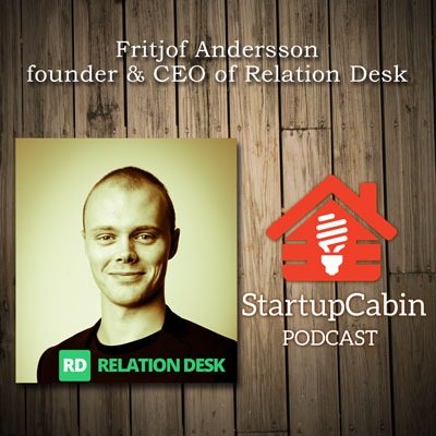 #1 Fritjof Andersson of Relation Desk