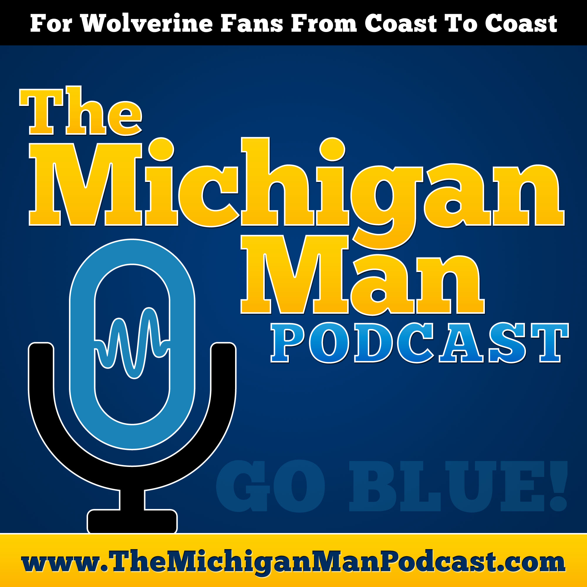 The Michigan Man Podcast show art