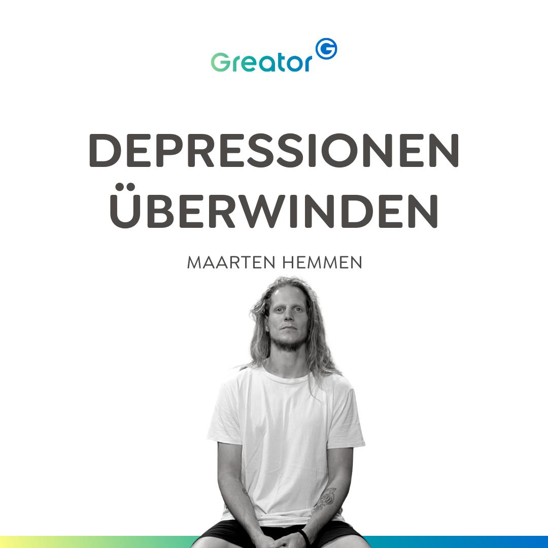 Bin ich depressiv? So erkennst du Depressionen & linderst sie // Maarten Hemmen