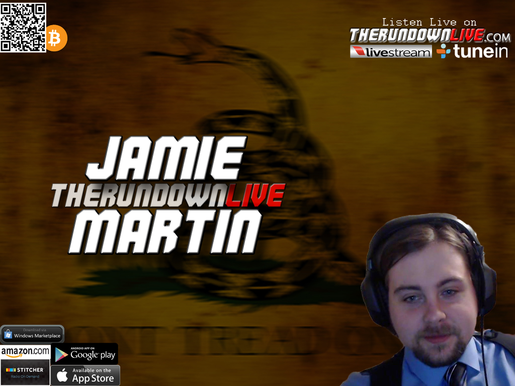 The Rundown Live #365 Jamie Martin (Facebook,Brutalism,Transhumanism)