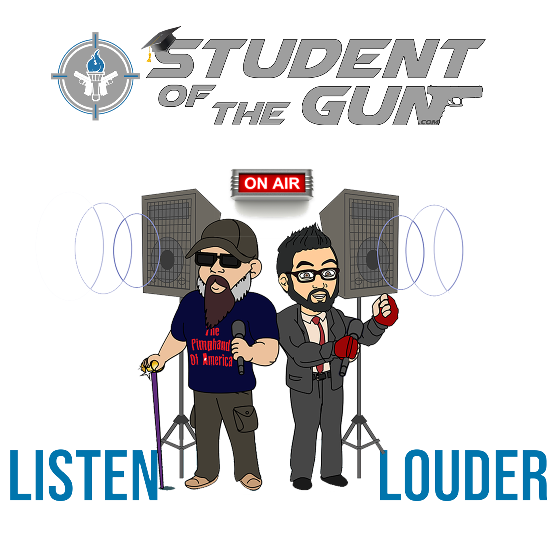 Student of the Gun Radio show art