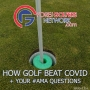 Artwork for How Golf Beat Covid + Your #AMA Questions Answered
