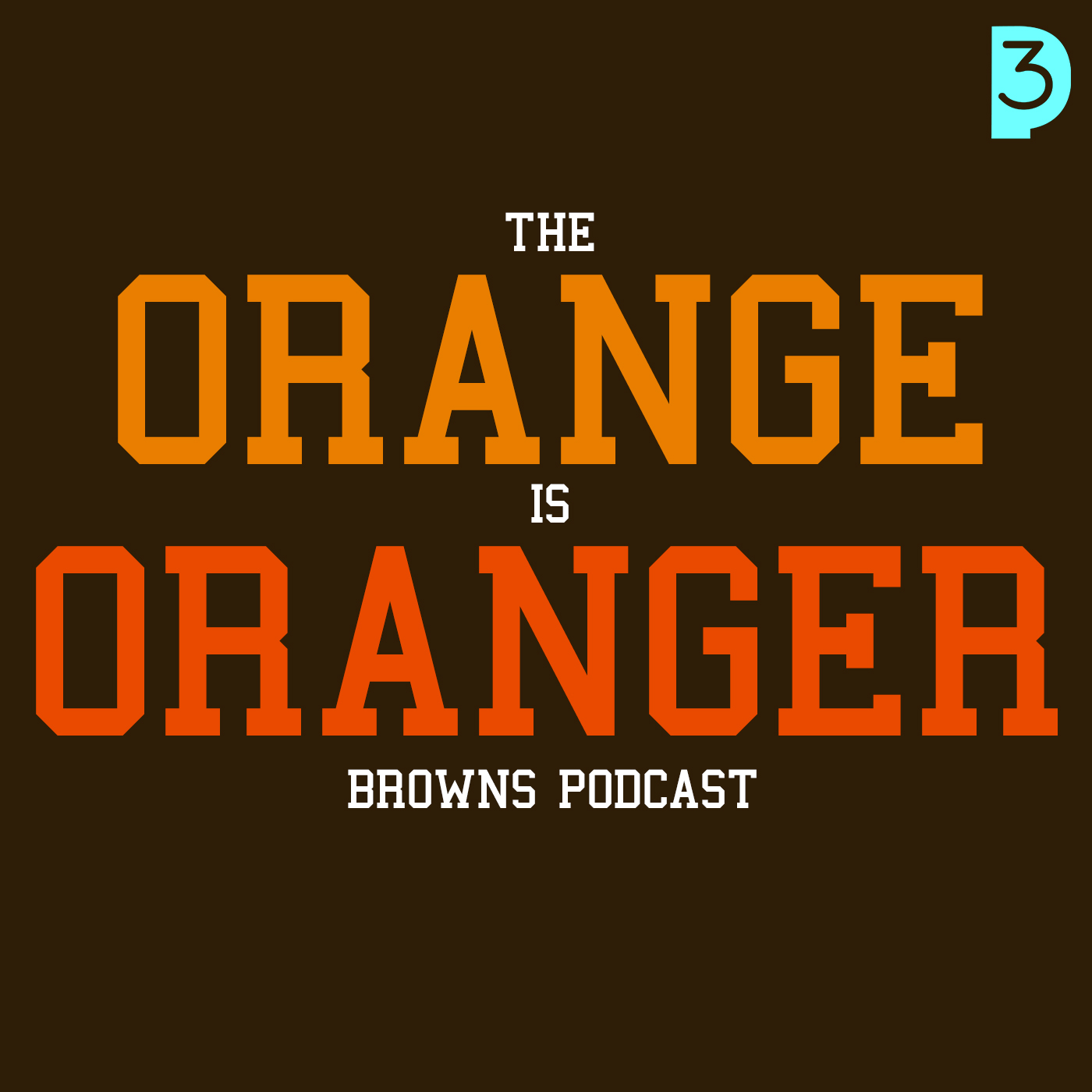 The Orange Is Oranger Cleveland Browns Podcast show art