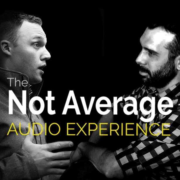 The Not Average Audio Experience show art