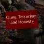 Artwork for EP27: Guns, Terrorism, and Honesty