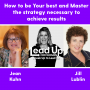 Artwork for How to be YOUR best and Master the strategy necessary to achieve results