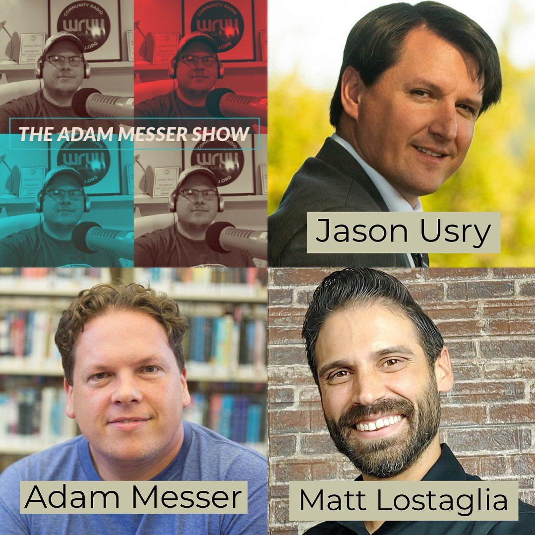 #69 - Jason Usry, Matt Lostaglia & Adam Messer part one show art