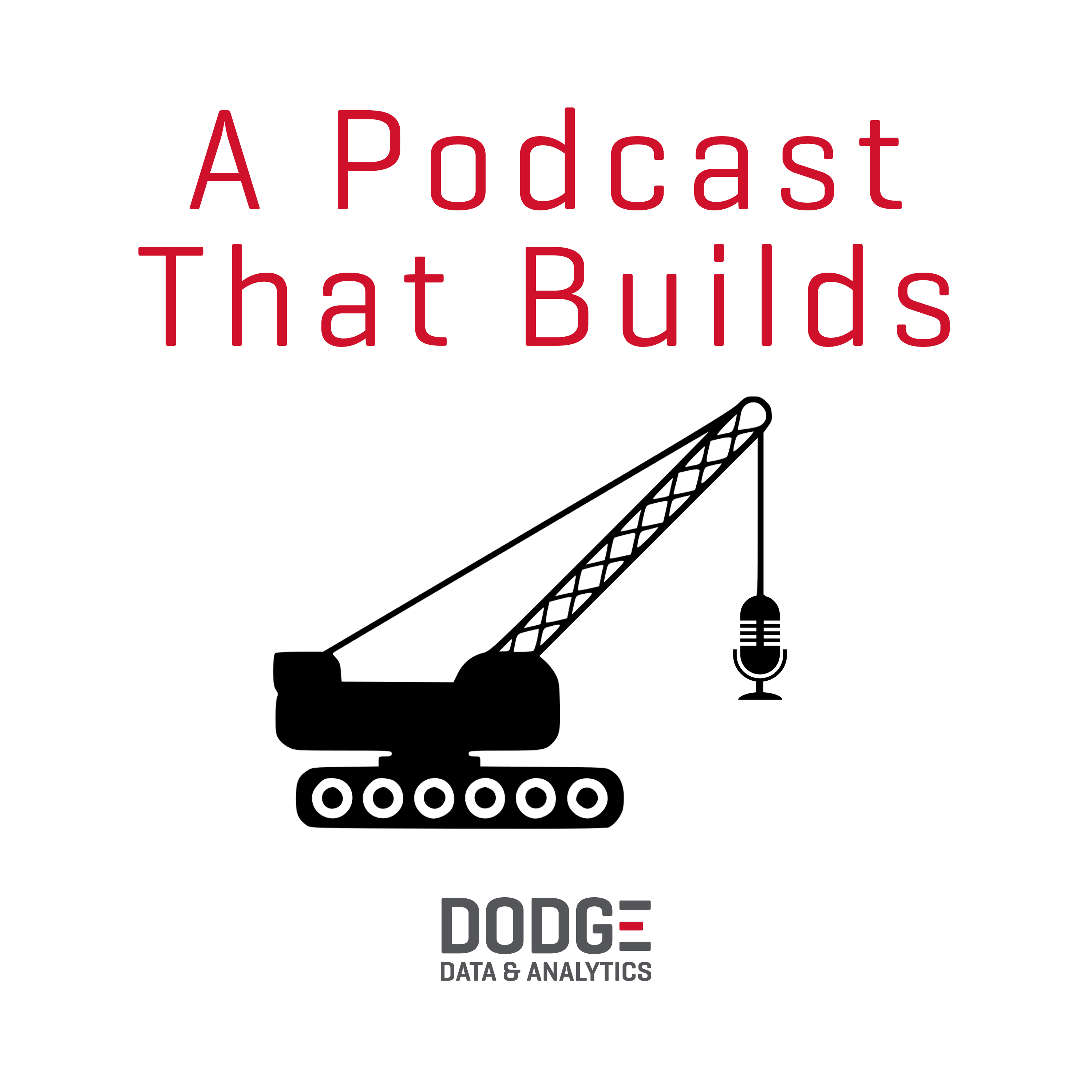 A Podcast That Builds show art