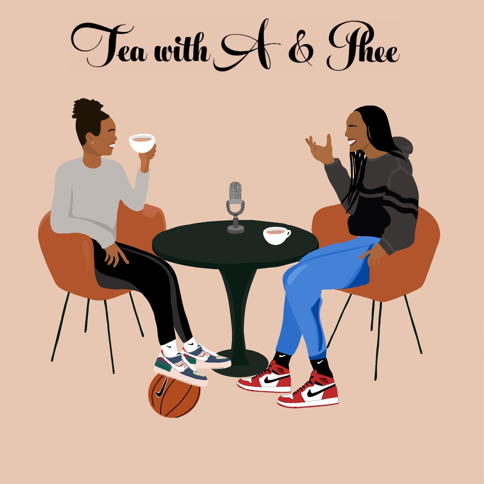 Tea with A & Phee show art
