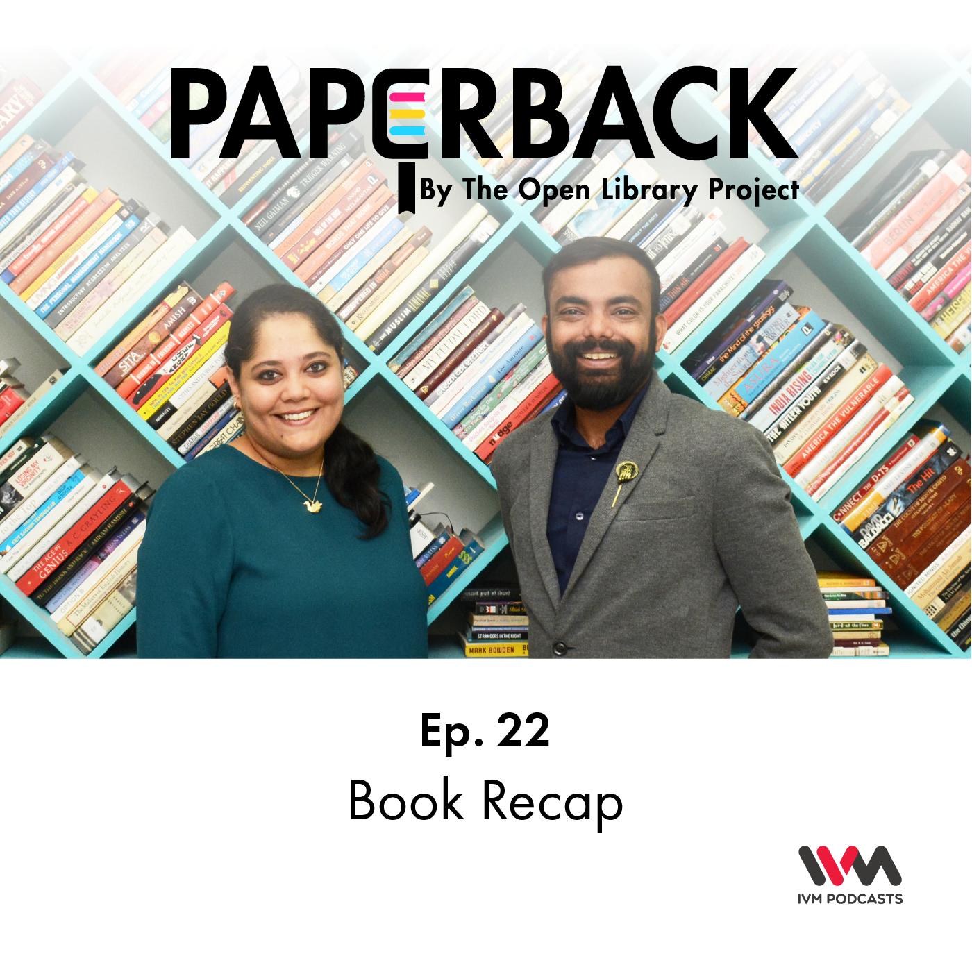 Ep. 22: Book Recap