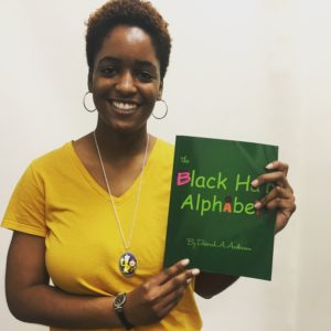 Artwork for Storytime: The Black Hair Alphabet by Deborah A. Anderson