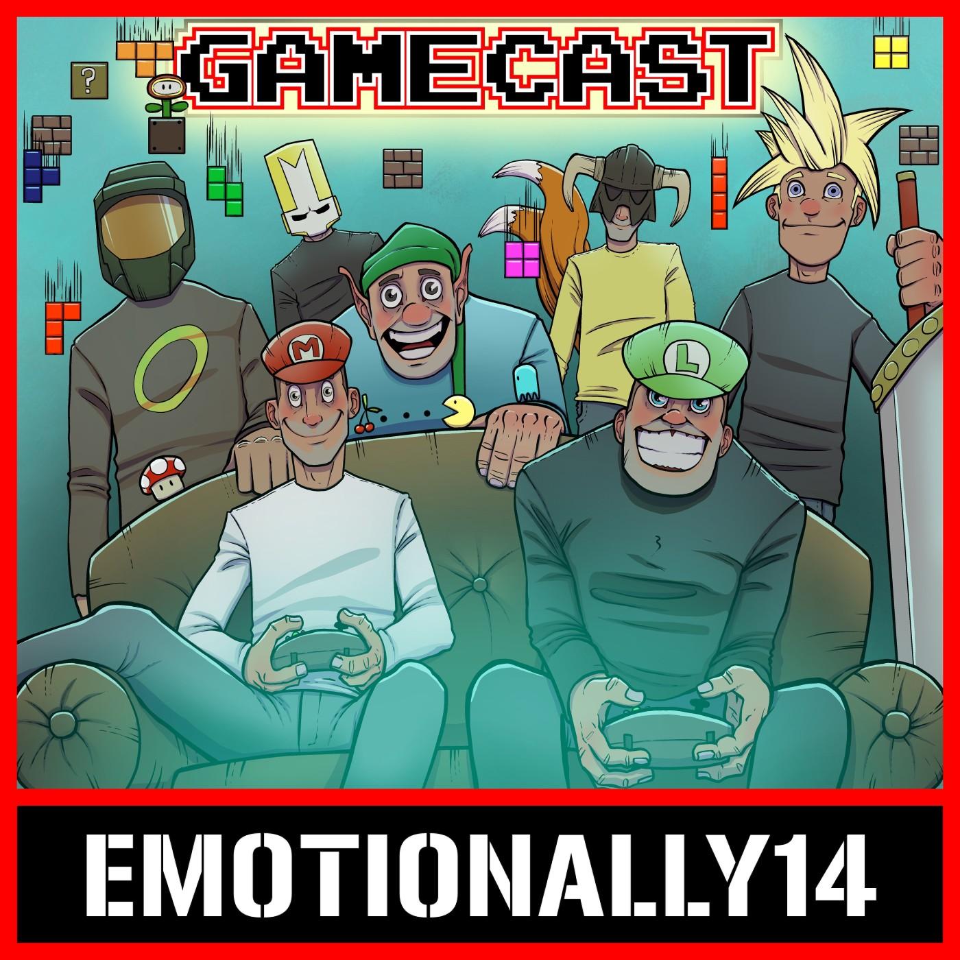 The E14 Gamecast show art