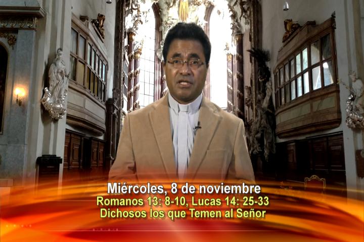 Artwork for Dios te Habla con Fr. Beni Leu, SVD   Tema el hoy:Dichosos los que temen al Señor.