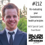 Artwork for 212: Re-evaluating your foundational health principles with Evan Brand