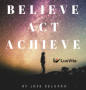 Artwork for 153.Believe, Act and Achieve, book