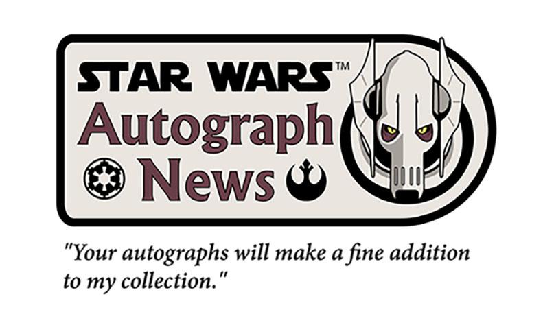 Star Wars Autograph News February 2016