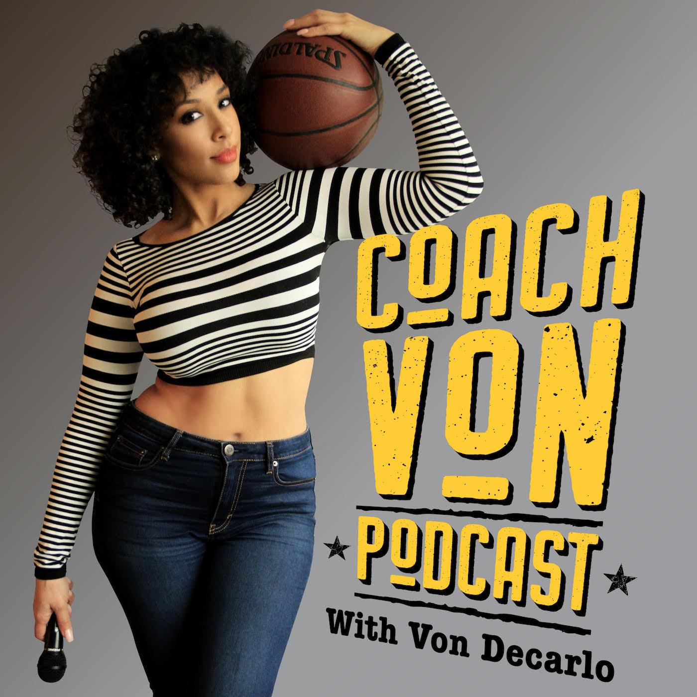 Coach Von Podcast show art