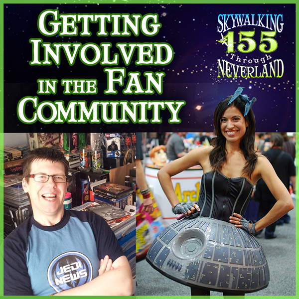 155: Jennifer Landa & Mark Newbold - Getting Involved in the Fan Community