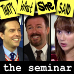 "Episode # 110 -- ""The Seminar"" (1/27/11)"