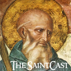 SaintCast #126, Benedict of Nursia, miracles for Fr. Kapaun Blessed Marmion? Happy St. Swithun's Day, feedback +1.312.235.2278