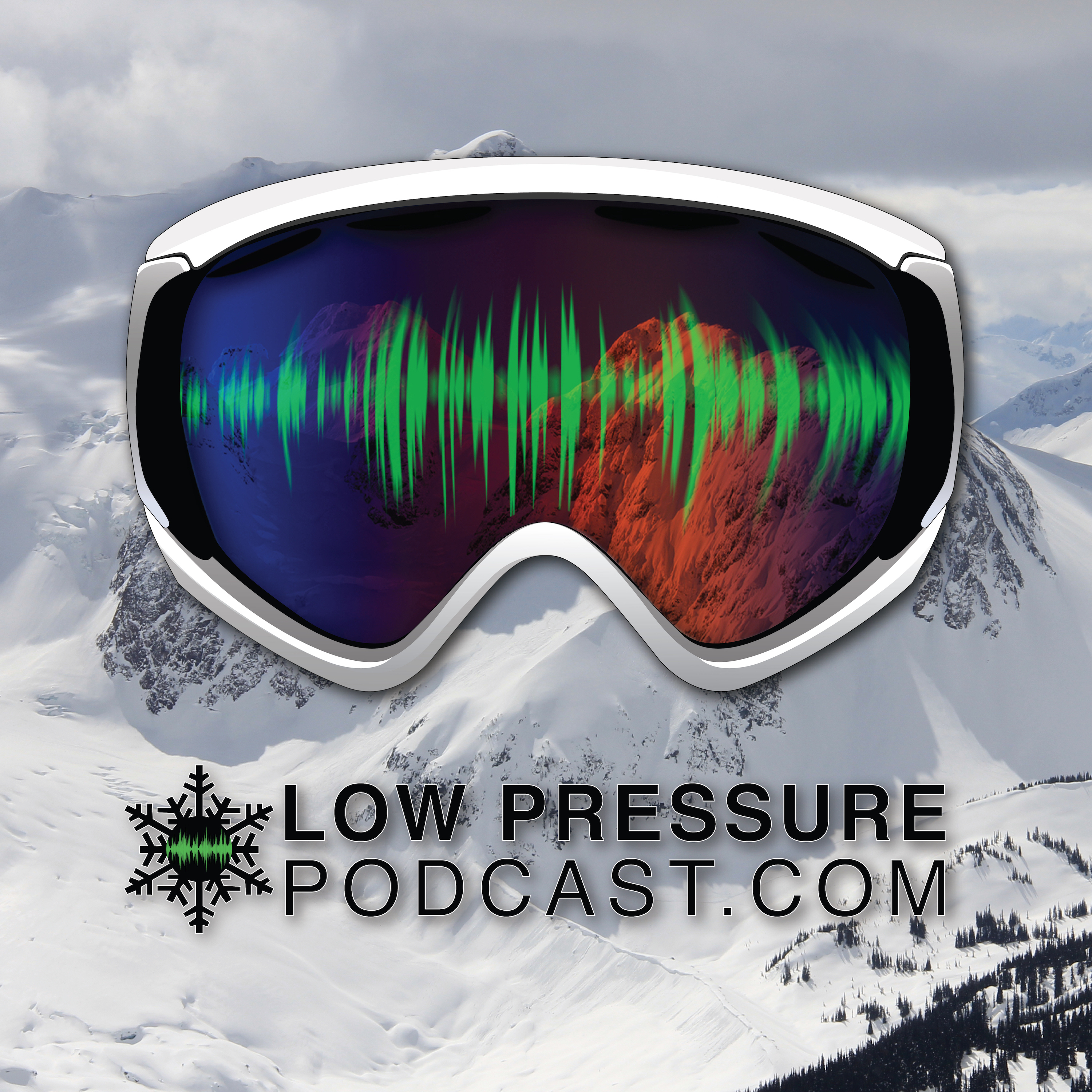 Low Pressure Podcast: The Podcast for Skiers show art