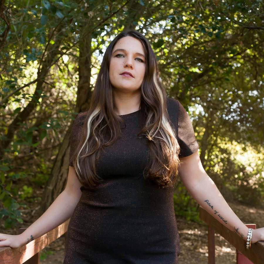 Lindsay White, songwriting, Surrogate from Lights Out, side hustle