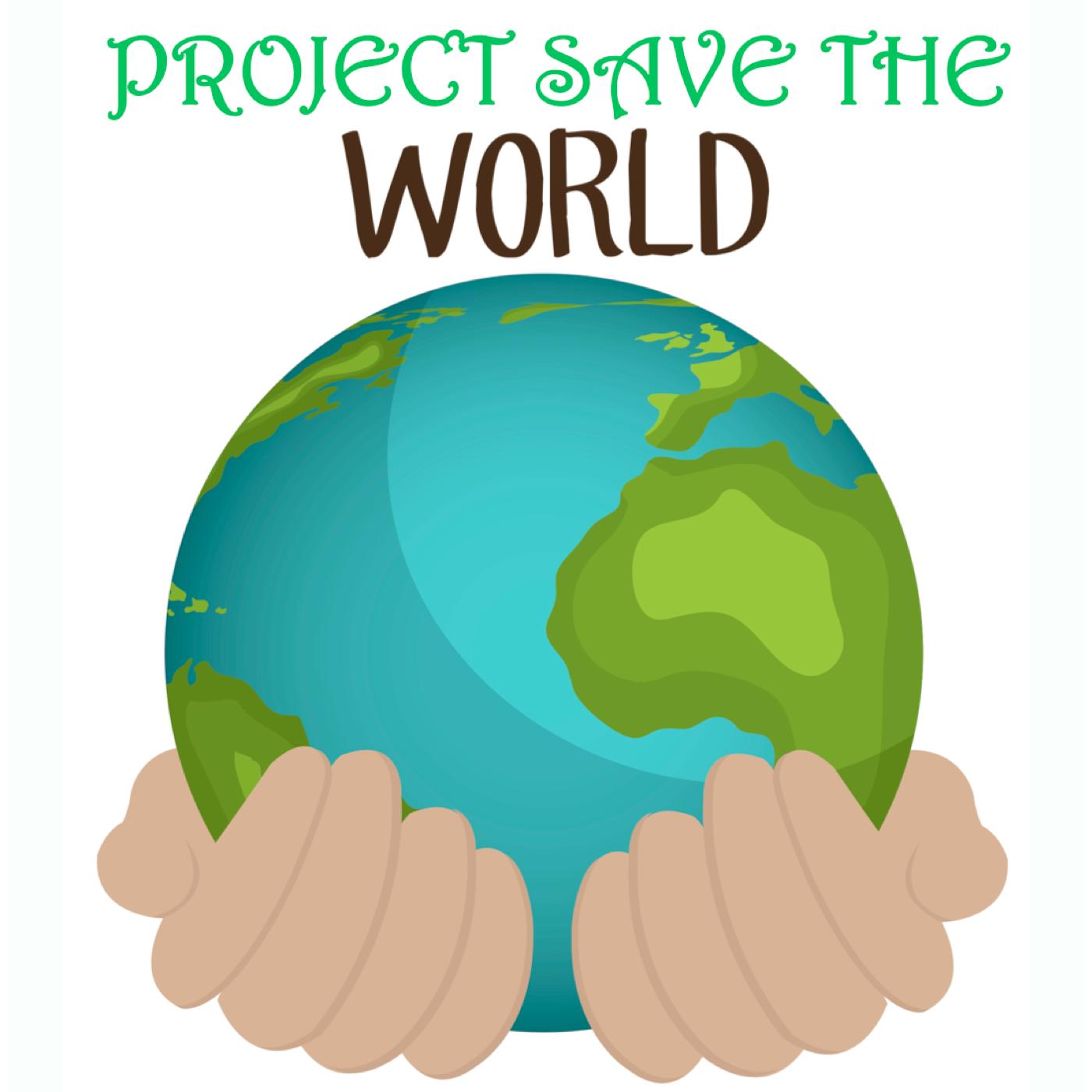 projectsavetheworld's podcast show art
