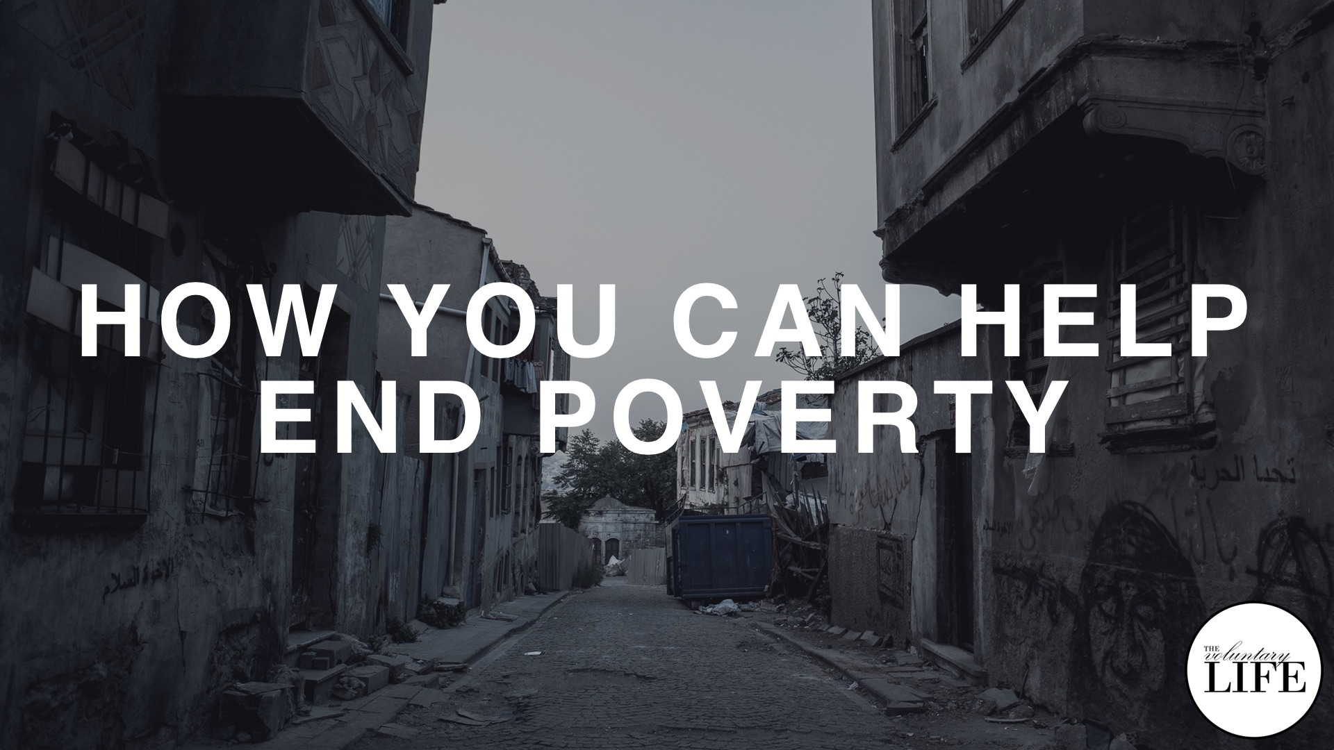 72 How You Can Help End Poverty