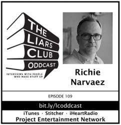 Richie Narvaez, Award-Winning Crime Writer