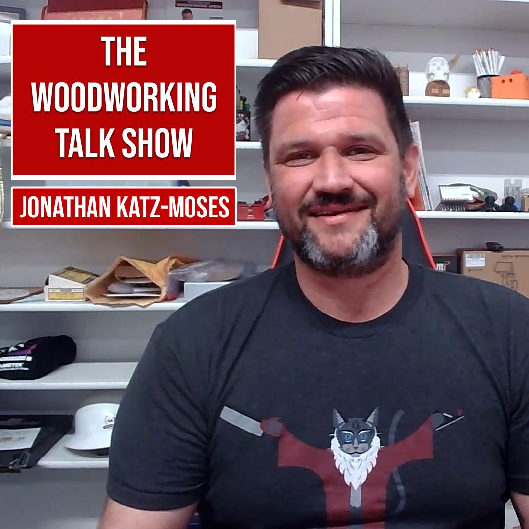 Jonathan Katz-Moses discusses robots in the workshop (Ep 6) show art