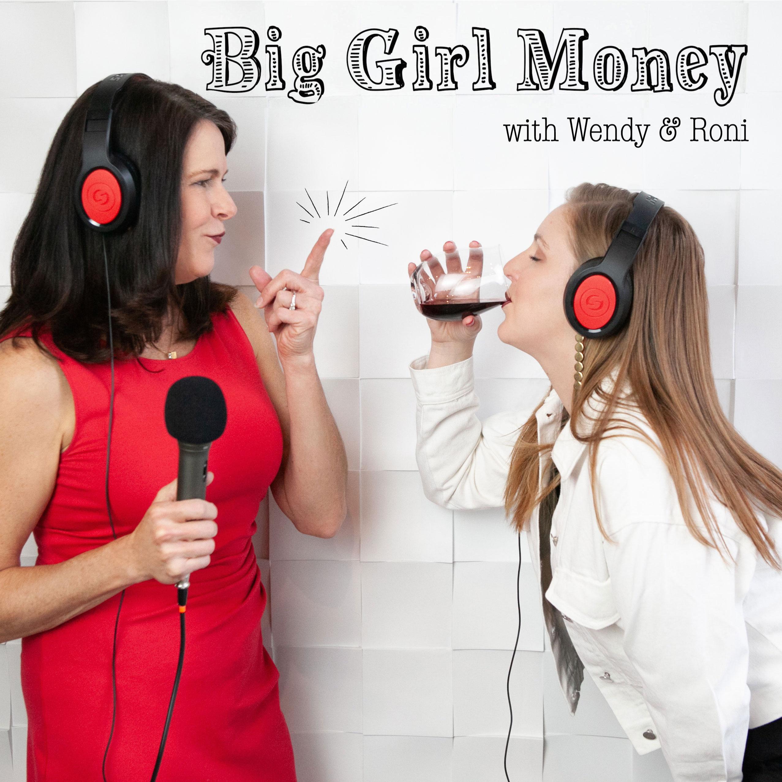 Big Girl Money show art
