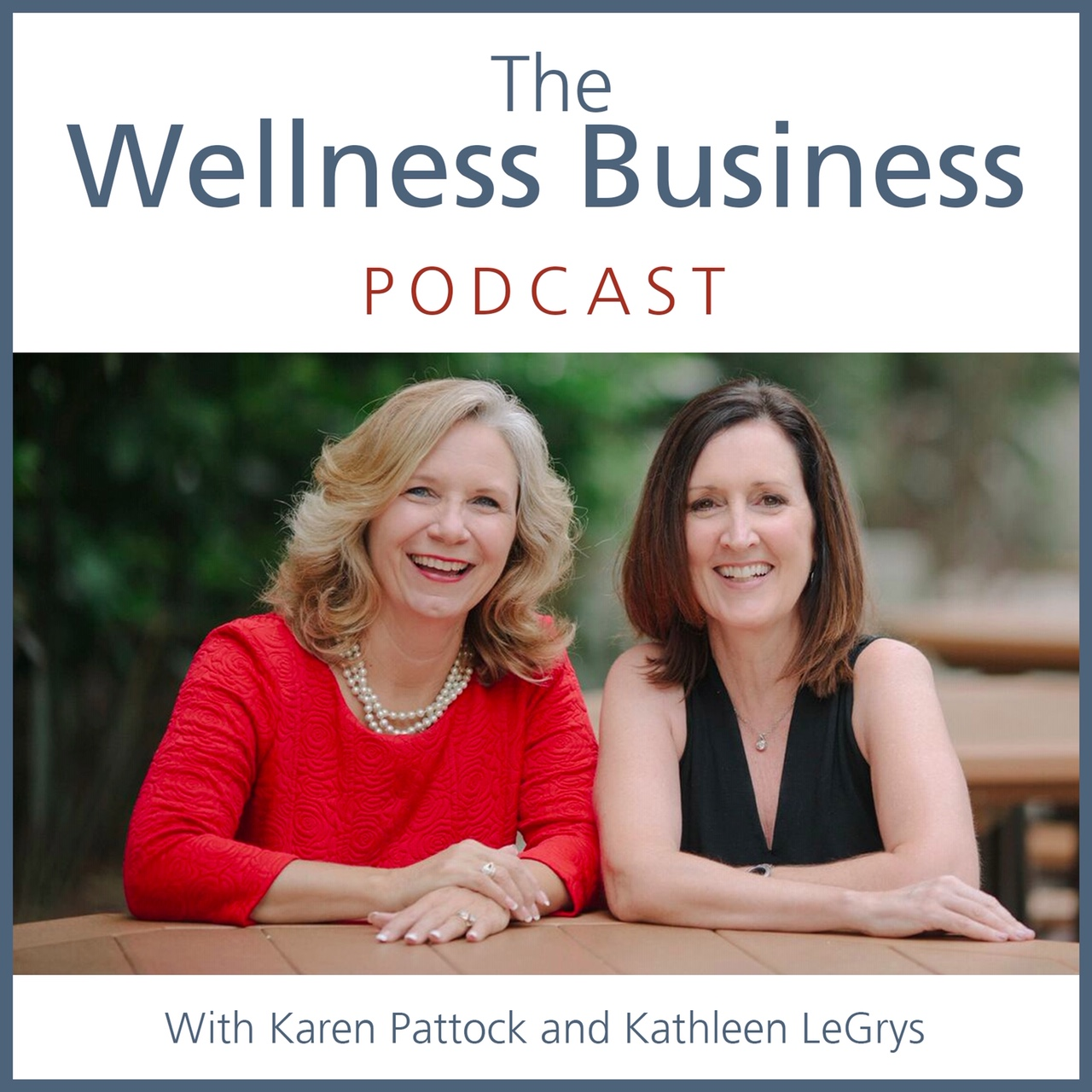 The Wellness Business Podcast show art