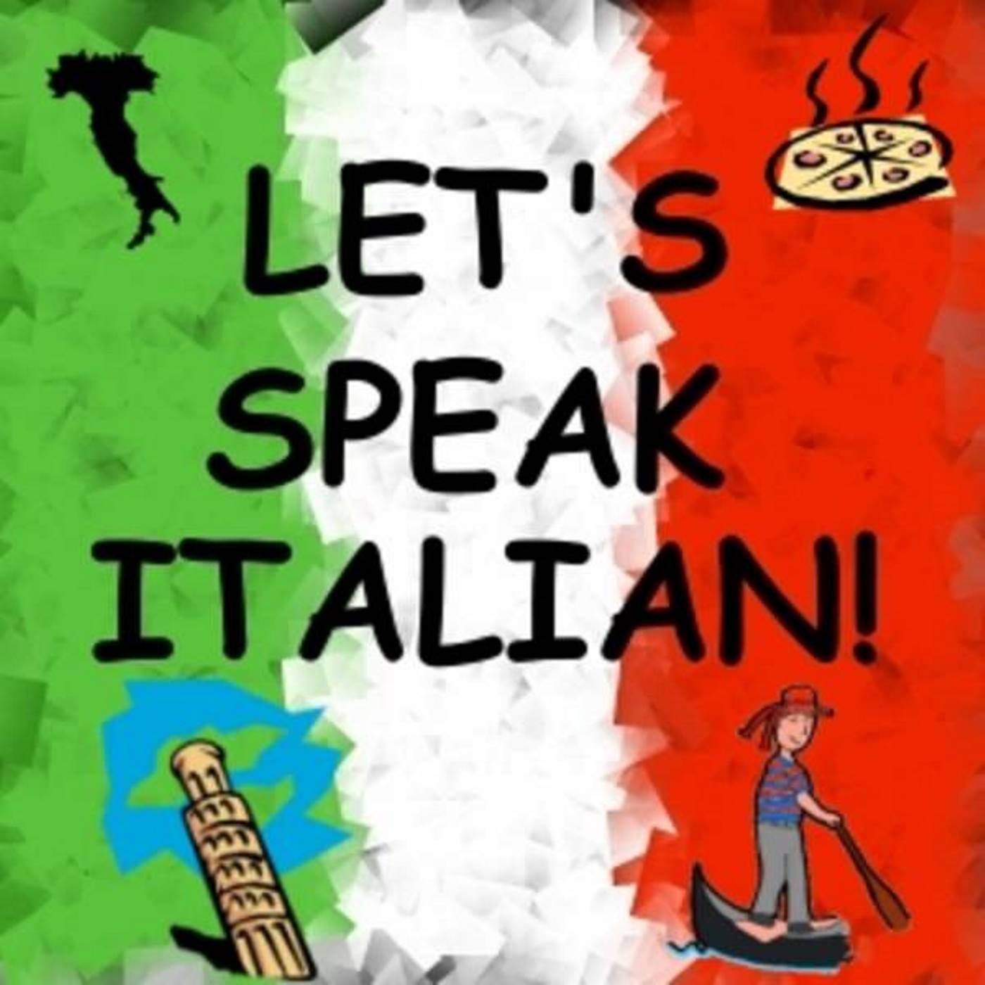 Let's Speak Italian! show art