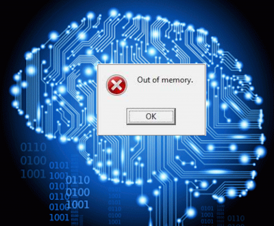 Out of Memory show image