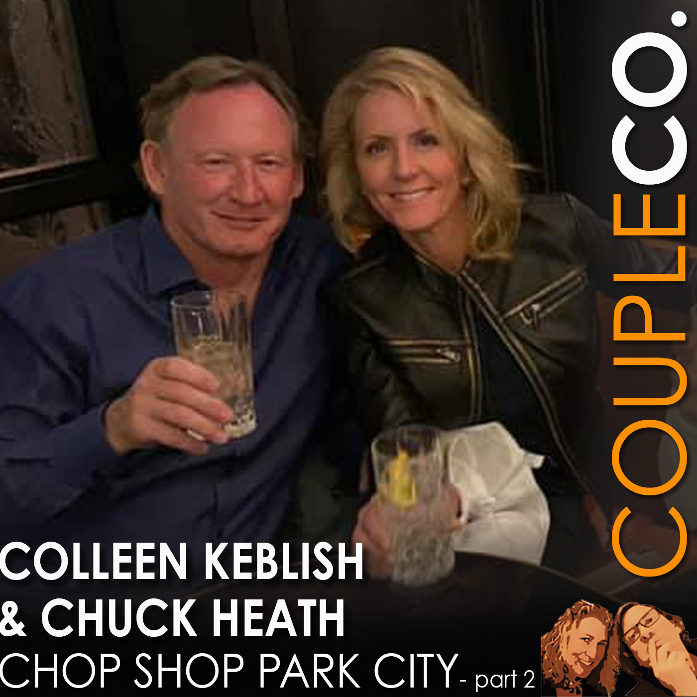 Bride of Fire & Knives: Chuck Heath and Colleen Keblish, Chop Shop Park City, Part 2