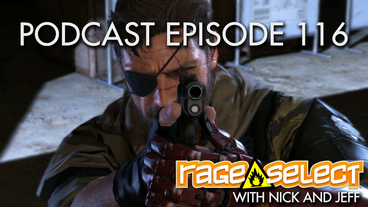 Rage Select Podcast Episode 116 - Nick and Jeff Answer Your Questions!
