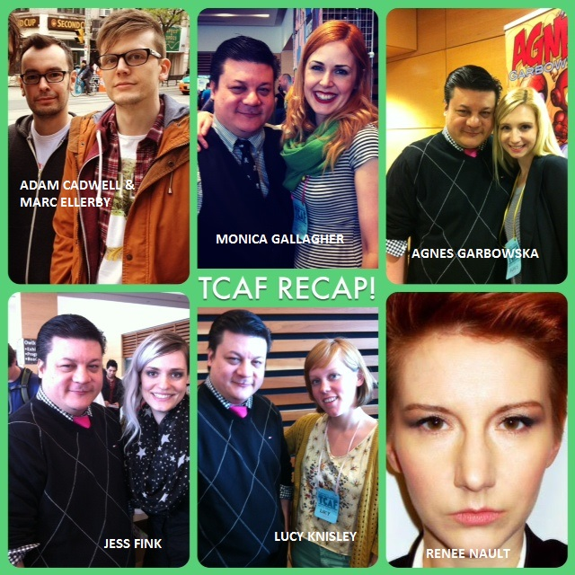 Episode 472 - TCAF Recap w/ Adam Cadwell/Marc Ellerby/Jess Fink/Monica Gallagher/Agnes Garbowska/Lucy Knisley/Renee Nault